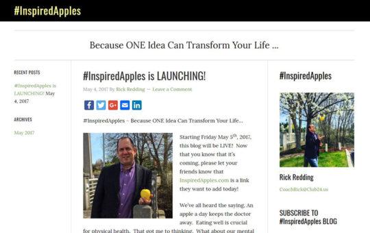 #InspiredApples Blog