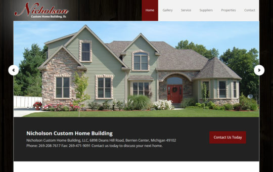 Nicholson Custom Home Building