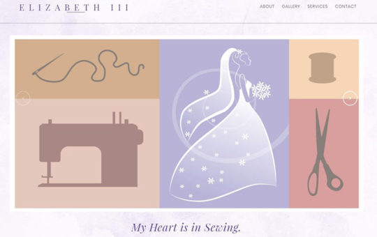 Elizabeth III Alterations and Custom Sewing