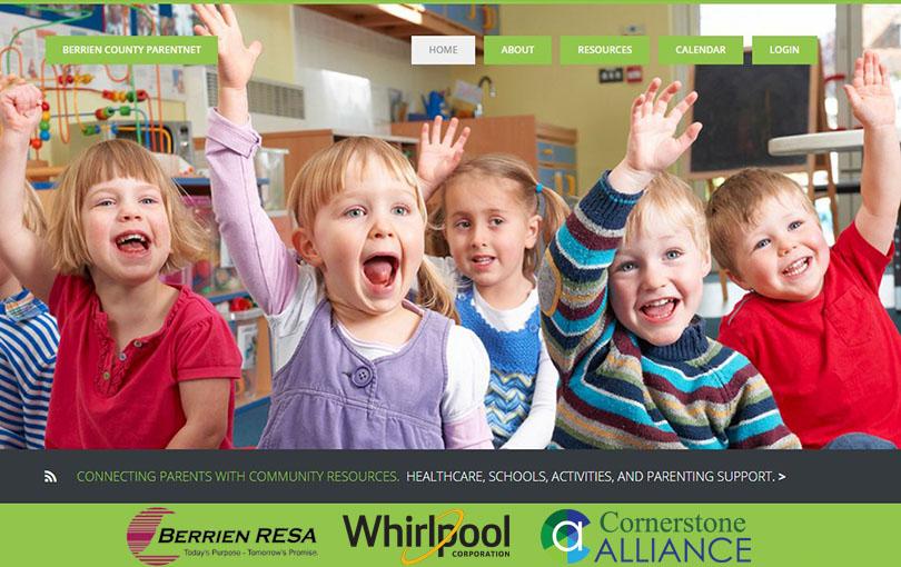 ParentNet project Berrien RESA, Whirlpool, Cornerstone Alliance