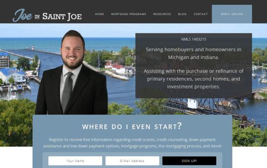 Joe in Saint Joe