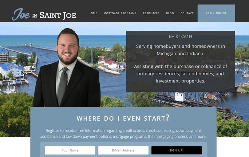 Ruoff Home Mortgage is located in St. Joseph, Michigan.