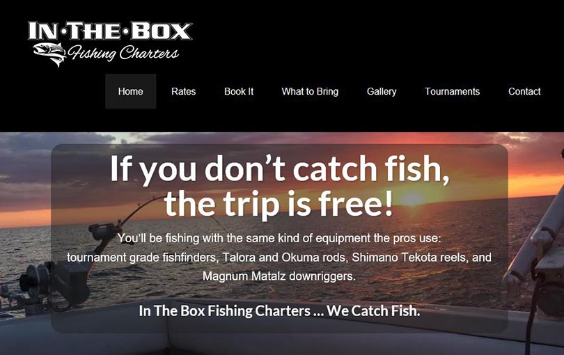 In the Box Fishing Charters is located in St Joseph, Michigan