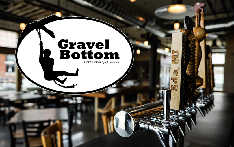 Gravel Bottom Craft Brewery is located near Grand Rapids in Ada, Michigan