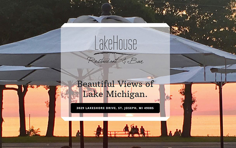 The Lakehouse Restaurant is located in St Joseph, Michigan