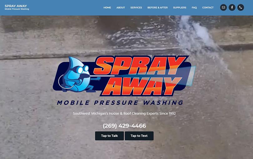 Spray Away Mobile Pressure Washing, St Joseph MI
