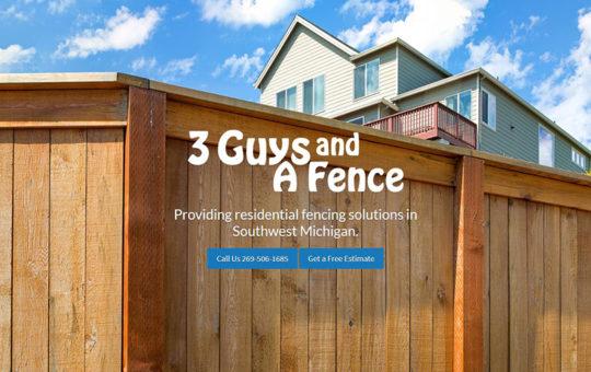 3 Guys & A Fence