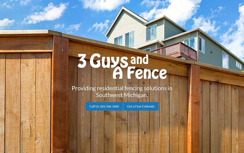 3 Guys & A Fence in St. Joseph, Michigan