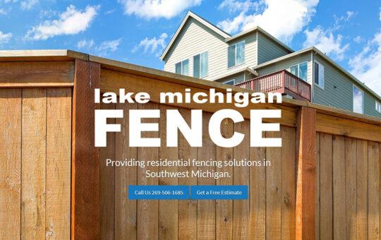 Lake Michigan Fence